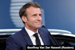Emmanuel Macron la Bruxelles, 2 iulie