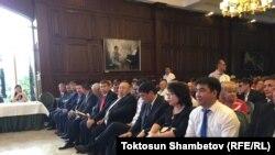 """""""Өнүгүү-Прогресс"""" партиясынын курултайы. Бишкек. 27-июнь, 2017-жыл."""