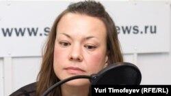 "Olga Allenova is a journalist for ""Kommersant"" newspaper"