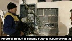 Uništeni kablovi nakon strujnog udara, Fojnica