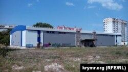Недостроенный Ледовый дворец в Севастополе