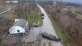 Grupul Operativ de Trupe Ruse din regiunea transnitreană în timpul unor exerciţii