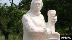 Скульптура темиртауского художника Александра Болюха.
