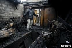 На окраинах Донецка. Февраль 2016 года