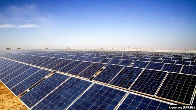 СЭС «Перово», построенная группой Activ Solar в Крыму