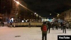 Descinderea trupelor speciale pe Euromaidan
