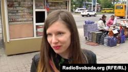 Жительница Донецка, которая во время отпуска собирается отдыхать дома