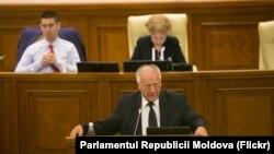 Dumitru Diacov (PD) în Parlament