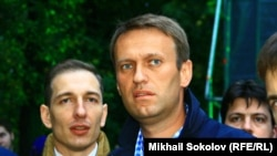 Алексей Навальный перед митингом в Сокольниках