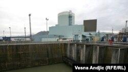 """""""Ali važno je reći da će Hrvatska sav svoj radioaktivni otpad koji je trenutno na lokaciji nuklearne elektrane obraditi u jednom od specijaliziranih centara u Europi"""", kaže Prpić (fotografija: Nuklearna elektrana Krško)"""
