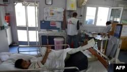 عکسی از بیمارستان شهر قندوز.