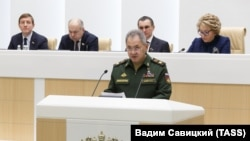 Сергей Шойгу в Совете Федерации