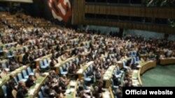 """""""Tarixi səsvermə"""" ilə BMT Baş Assambleyası İnsan Haqları Şurasının yaradılmasına qərar verir, 15 mart 2006"""