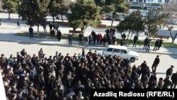 Sumqayıtda aksiya - 28 yanvar 2016