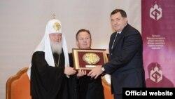 Uručivanje odlikovanje Fonda jedinstva pravoslavnih naroda Miloradu Dodiku