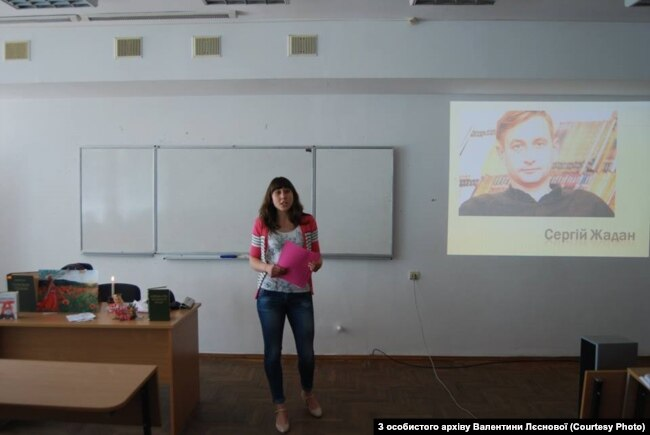 Анастасії Горбань було цікаво показати Жадана-волонтера, а не лише поета