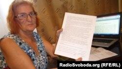 Активістка Раїса Радченко повернулася додому, Запоріжжя, 27 липня 2013 року