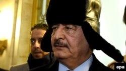 Генерал Халіфа Хафтар відвідує Москву, листопада 2016 року