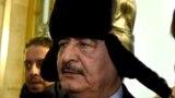 Фельдмаршал Халифа Хафтар по время одного из визитов в Москву