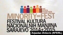 "Plakat ""Minority Fest 2014+2015"""
