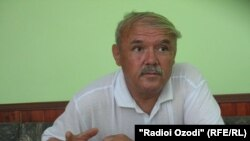 Uzbek community leader Salim Shamsiddinov (file photo)