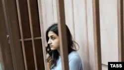 Крестина Хачатурян в суде, 27 июля 2018 года