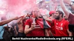 Фанаты «Ливерпуля» в Киеве. Архивное фото