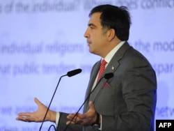 Gürcüstan prezidenti Mikheil Saakashvili