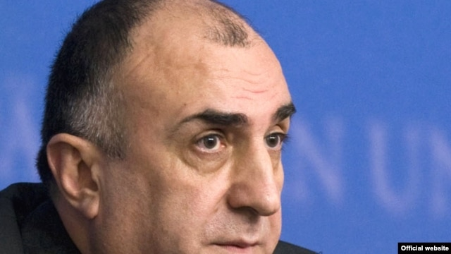Belgium -- Azerbaijani Foreign Minister Elmar Mammadyarov at a EU-Azerbaijan cooperation council in Brussels, 26Oct2009