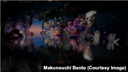 3 Electrical Snowghosts - Makunouchi Bento - 20 Fingers Club Lullaby.