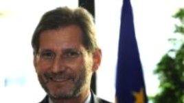 Comisarul european Johannes Hahn