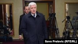 Duško Marković, potpredsjednik Vlade Crne Gore i rukovodilac MUP - a