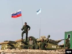 Abxaziyada Rusiya hərbçiləri - 2008
