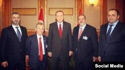 Recep Erdoğan qırımtatar halqınıñ temsilcileri ile