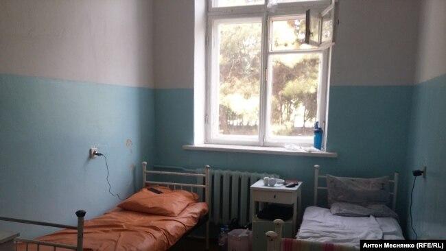 Палата для пациентов с подозрением на COVID-19 в Севастополе