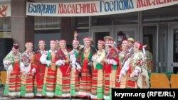 Празднования Масленицы в Севастополе, март 2016 год