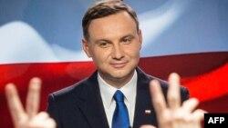 Польша президенттігіне кандидат Анджей Дуда.