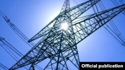 Armenia - An electricity transmission tower.