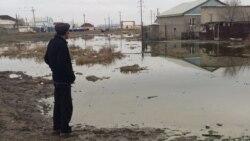 Атырауда кейбір үйлерге су жайыла бастады