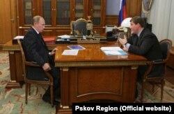 Встреча Владимира Путина и Андрея Турчака 22 октября 2010 года