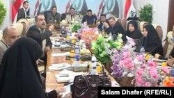 جلسة لمجلس محافظة ميسان