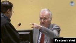 Branitelj Ivetić i optuženi Mladić