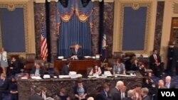 Зал заседаний Сената США (архивный снимок)