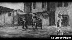"""""""Кружното патување на Марето"""", анимиран филм на Жарко Иванов."""