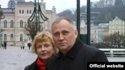 Николай Статкевич и его супруга