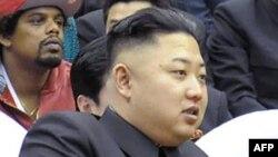 Северокорейский лидер Ким Чен Ын.