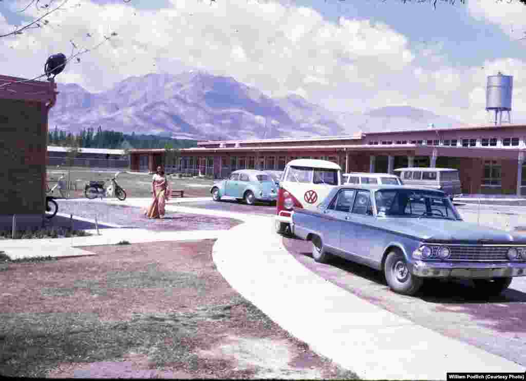 Peg and Jan Podlich attended the American International School in Kabul. Peg says there were around 250 students attending the school in 1967-68, with 18 graduating seniors.
