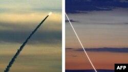 آزمایش موشک اسرائیلی «ارو» در پایگاهی در نزدیکی تل آویو
