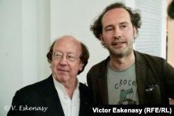 Michel Lethiec cu Răzvan Popovici la Rolandseck