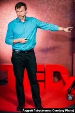 Выступление на конференции TEDхNiamiha в Минске